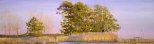 Indian Summer, landscape painting canvas giclée print, museum piece_Deborah Chapin Gallery Store