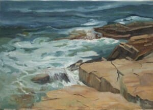 Maine Coastal, 12x16 $2200 discount to $1900