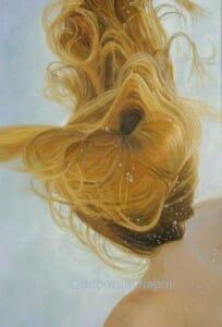 Ephemeral, 24x36 oil on linen by Deborah Chapin