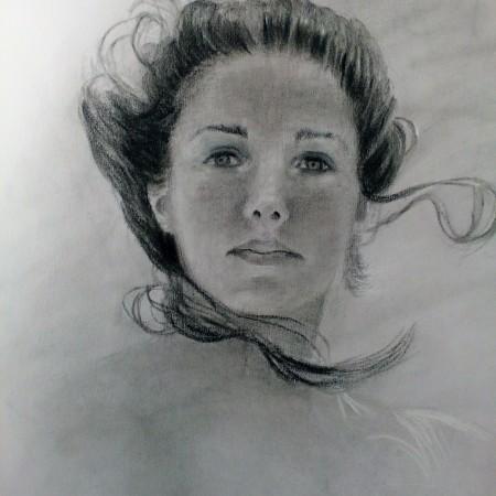 Charcoal Drawings, original drawings by Deborah Chapin