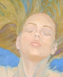 closeup, Portraits, In A World of Her Own by Deborah Chapin