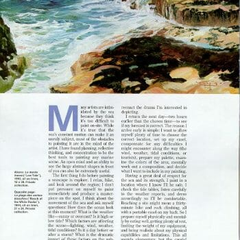 page 2 Sea and Surf en Plein Air by Deborah Chapin