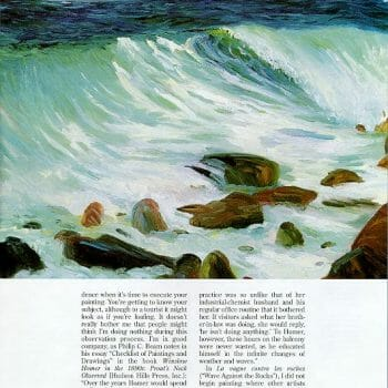page 3 Sea and Surf en Plein Air by Deborah Chapin