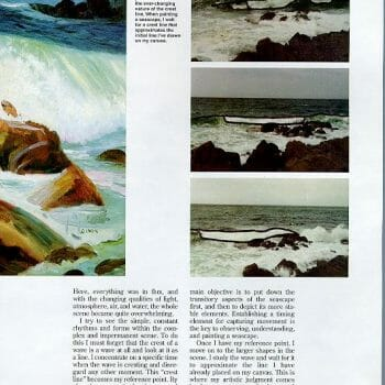 page 4 Sea and Surf en Plein Air by Deborah Chapin