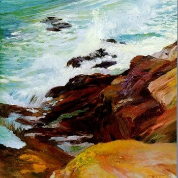 page 5 Sea and Surf en Plein Air by Deborah Chapin