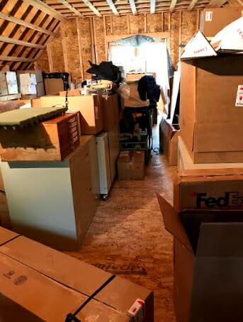 17 Tons of Boxes moved my Studio to Maine