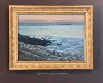 Morning Light, 12x17 oil on linen canvas, Deborah Chapin