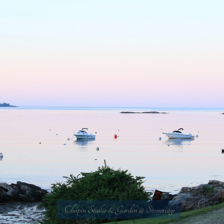 Pemaquid Harbor Boats by Deborah Chapin