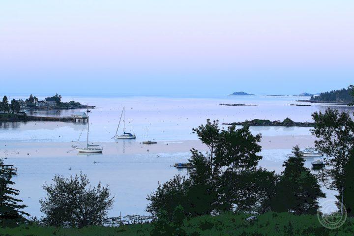 Pemaquid Harbor Summer by Deborah Chapin