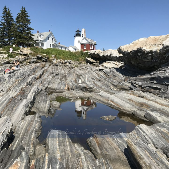 Pemaquid Point Lighthouse 2 by Deborah Chapin