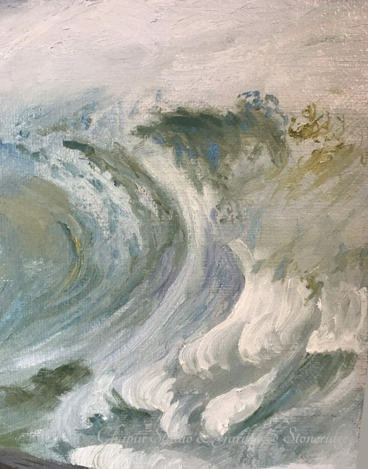 White Horses of the Sea I, oil on linen canvas is part of the #chapinstormpaintings by woman marine artist Deborah Chapin. See this Painting in the gallery at: https://gallery.deborahchapin.com/shop/white-horses-of-the-sea-1-by-deborah-chapin Collector's can reserve by blue dot preview now. White Horses of the Sea I, oil on linen canvas is part of the #chapinstormpaintings depicting the white horses written about by Byron and other poets.