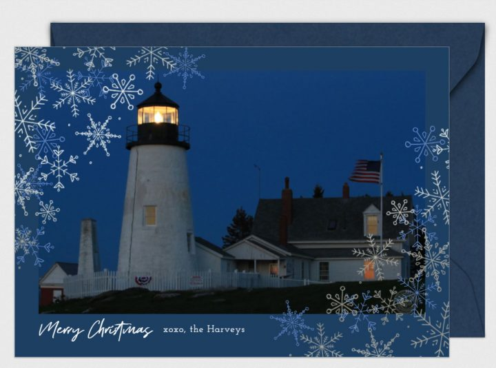 winter greetingPemaquid