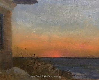 "Seascapes by Deborah Chapin, ""Below the Horizon"""