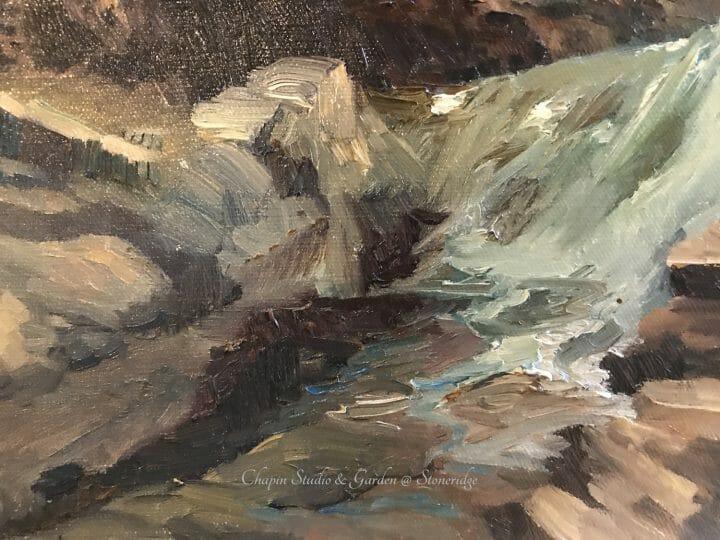 Au Soleil Detail 2 by Deborah Chapin