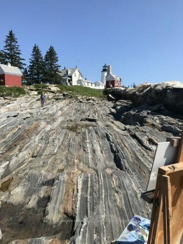 Pemaquid Point Paintout August 2020