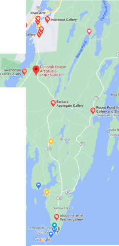 Pemaquid Point Artists on the Peninsula Directory