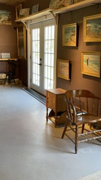Chapin Studio/ Gallery at Stoneridge in Bristol Maine