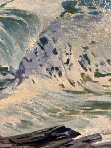 White Horses of the Sea 5 by Deborah Chapin