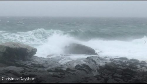 This is the raw footage of film taken at the Christmas Storm off of Pemaquid Point. I've only edited the audio a bit to tone it down. I use these videos to understand the way movements for a particular spot along the coast of Maine and to understand it better. In this way when painting it that learning process makes it easier to render. Deborah Chapin