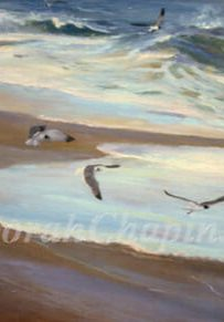 Master Artist Deborah Chapin, seascapes, marine paintings, beach scenes and landscape gallery, https://gallery.deborahchapin.com