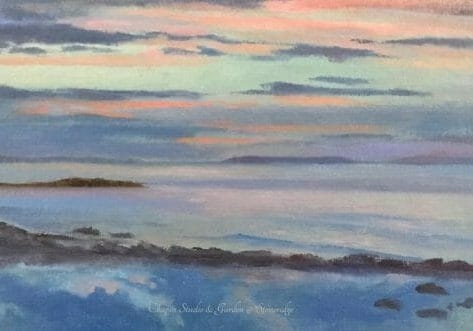 First Light Mid Coast Maine Art by Deborah Chapin