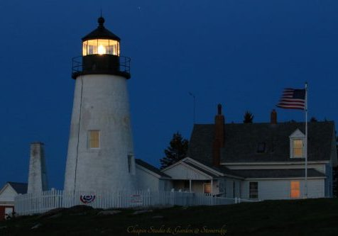 Pemaquid Point Lighthouse by Deborah Chapin